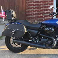 Andys's 2016 Harley Street 500 w/ Motorcycle Saddlebags