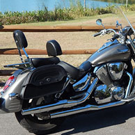 Charles' '07 Honda VTX 1300 R w/ Warrior Series Saddlebags