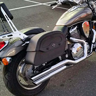 Gary's Honda VTX 1800 C w/ Warrior Series Saddlebags